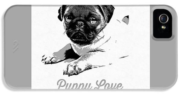 Puppy Love IPhone 5s Case by Edward Fielding
