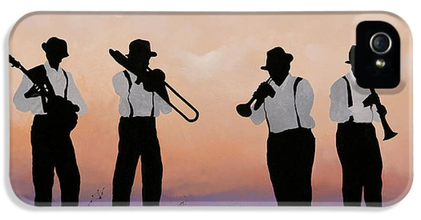Music iPhone 5s Case - Quattro by Guido Borelli