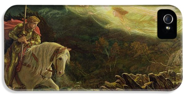 Quest For The Holy Grail IPhone 5s Case by Arthur Hughes