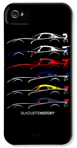 Racing Snake Silhouettehistory IPhone 5s Case by Gabor Vida