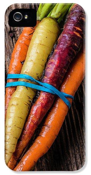 Rainbow Carrots IPhone 5s Case