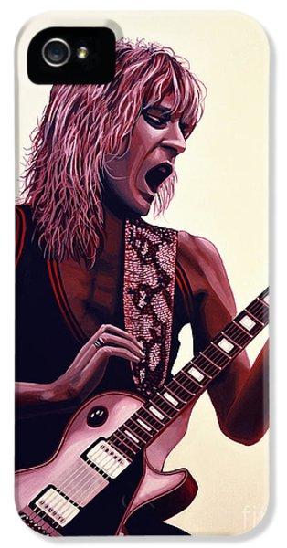 Rolling Stone Magazine iPhone 5s Case - Randy Rhoads by Paul Meijering