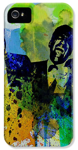 Frank Sinatra iPhone 5s Case - Rat Pack by Naxart Studio