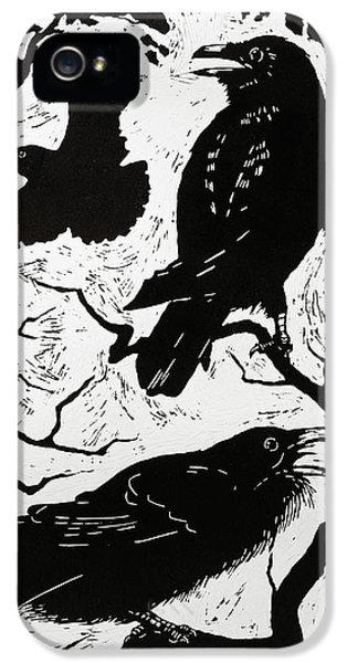 Ravens IPhone 5s Case by Nat Morley