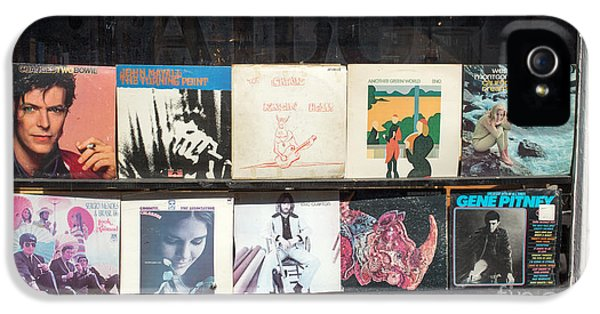 Record Store Burlington Vermont IPhone 5s Case by Edward Fielding