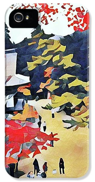 iPhone 5s Case - Autumn Color  by Naomi Ibuki