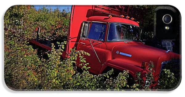 Truck iPhone 5s Case - Red Truck by Jerry LoFaro