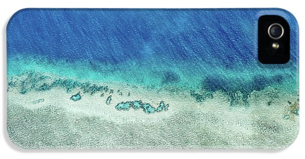Helicopter iPhone 5s Case - Reef Barrier by Az Jackson
