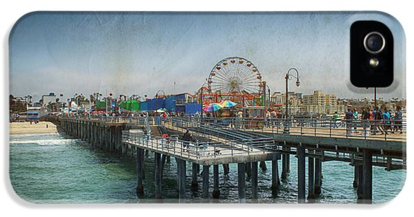 Santa Monica iPhone 5s Case - Remember Those Days by Laurie Search