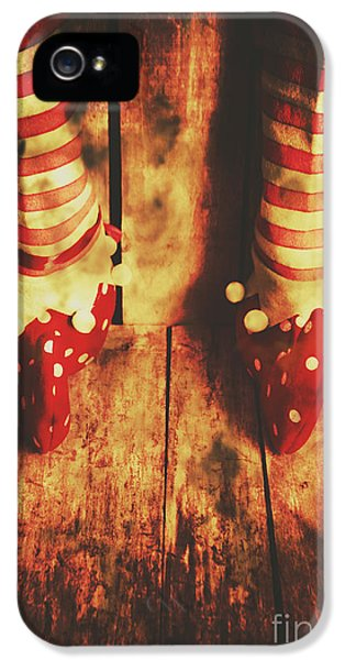 Elf iPhone 5s Case - Retro Elf Toes by Jorgo Photography - Wall Art Gallery