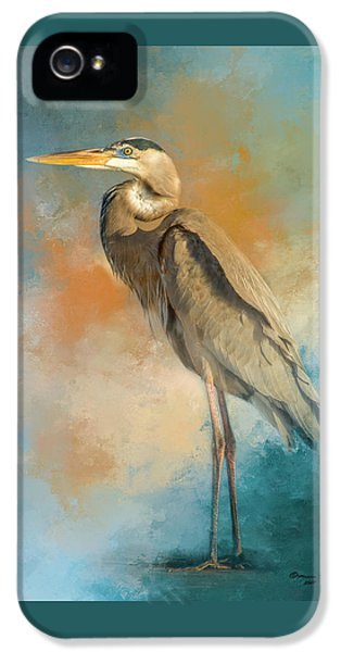 Heron iPhone 5s Case - Rhapsody In Blue by Marvin Spates