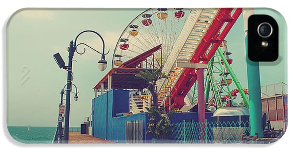 Santa Monica iPhone 5s Case - Ride It Out by Laurie Search