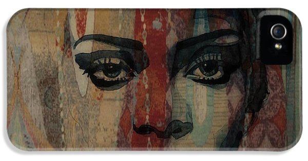 Rihanna iPhone 5s Case - Rihanna - Diamonds by Paul Lovering