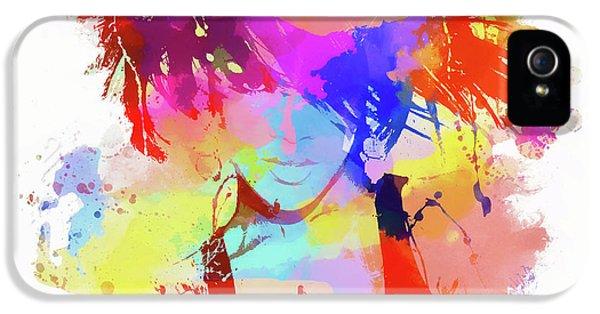Rihanna Paint Splatter IPhone 5s Case by Dan Sproul