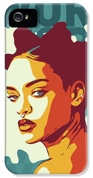 Rihanna iPhone 5s Case - Rihanna by Greatom London