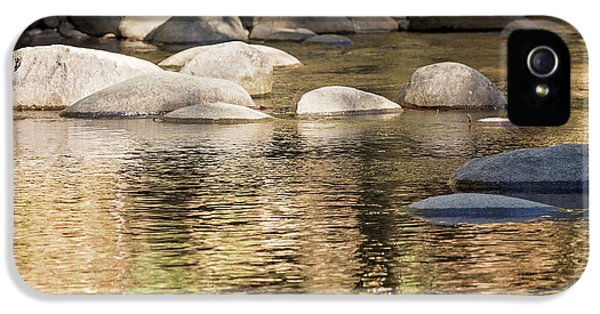 IPhone 5s Case featuring the photograph Ripples And Rocks by Linda Lees