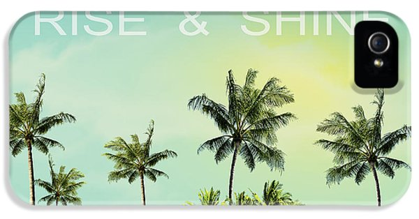 Venice Beach iPhone 5s Case - Rise And  Shine by Mark Ashkenazi