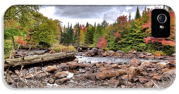 IPhone 5s Case featuring the photograph River Debris At Indian Rapids by David Patterson