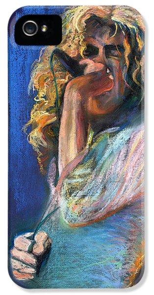 Musicians iPhone 5s Case - Robert Plant by Laurie VanBalen