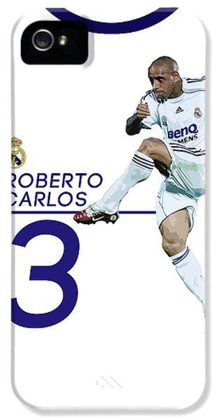 Roberto Carlos IPhone 5s Case by Semih Yurdabak
