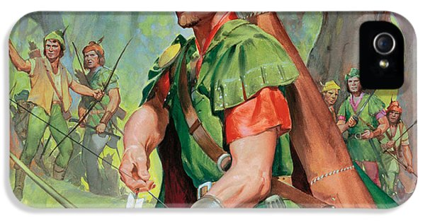 Robin Hood IPhone 5s Case by James Edwin McConnell