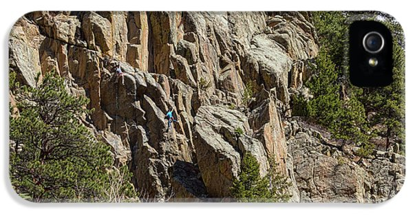 IPhone 5s Case featuring the photograph Rock Climbers Paradise by James BO Insogna