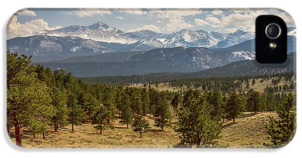 IPhone 5s Case featuring the photograph Rocky Mountain Afternoon High by James BO Insogna