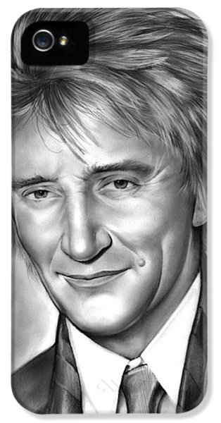 Rock And Roll iPhone 5s Case - Rod Stewart by Greg Joens