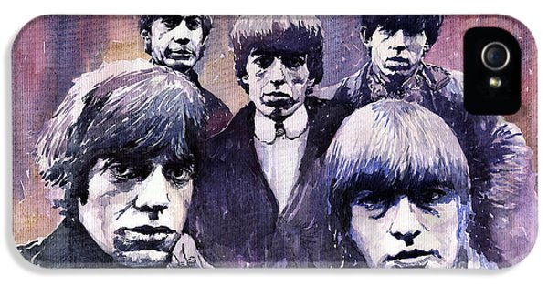 Rolling Stone Magazine iPhone 5s Case - Rolling Stones  by Yuriy Shevchuk