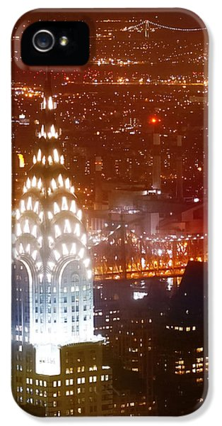 Romantic Manhattan IPhone 5s Case by Az Jackson