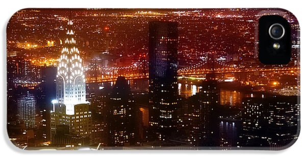 Romantic Skyline IPhone 5s Case by Az Jackson