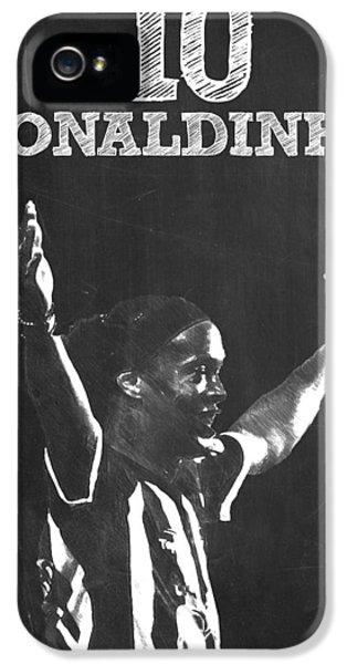 Ronaldinho IPhone 5s Case by Semih Yurdabak