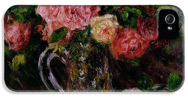 Roses IPhone 5s Case by Pierre Auguste Renoir