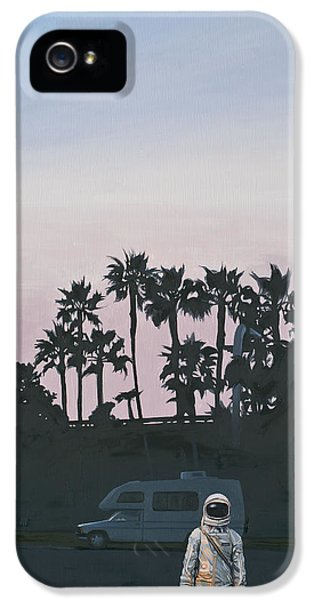 Rv Dusk IPhone 5s Case by Scott Listfield