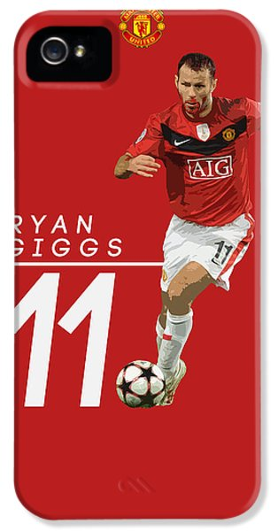Ryan Giggs IPhone 5s Case