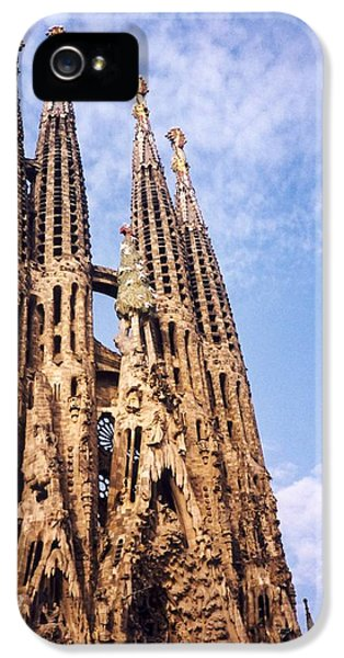 Sagrada Familia IPhone 5s Case by Sandy Taylor