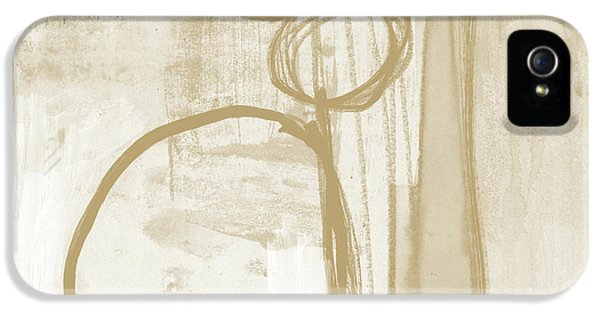 Camel iPhone 5s Case - Sand And Stone 2- Contemporary Abstract Art By Linda Woods by Linda Woods