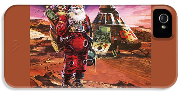 Santa Claus On Mars IPhone 5s Case by English School