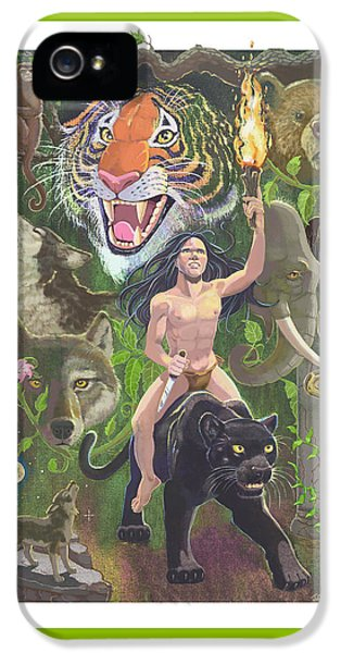 Savage IPhone 5s Case by J L Meadows