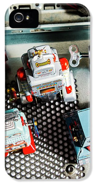 1950s iPhone 5s Case - Science Of Automation by Jorgo Photography - Wall Art Gallery