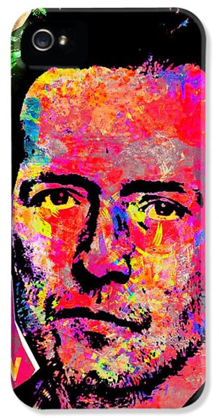Stone Temple Pilots iPhone 5s Case - Scott Weiland 2 by Otis Porritt