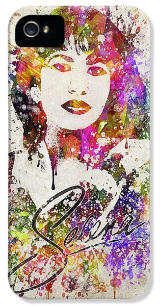 Selena Quintanilla In Color IPhone 5s Case