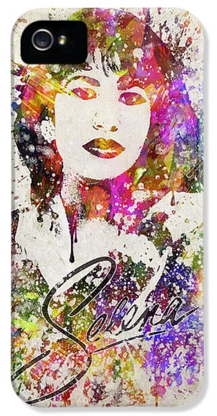 Selena Quintanilla In Color IPhone 5s Case by Aged Pixel