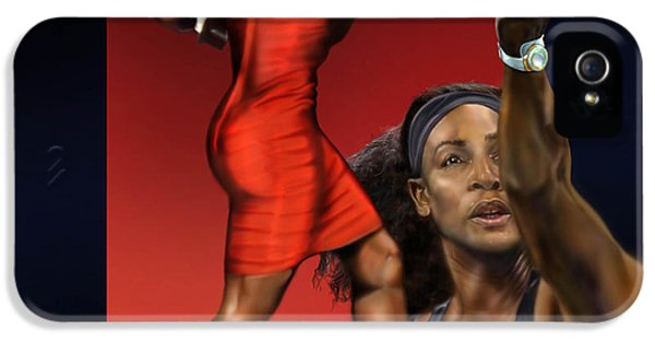 Sensuality Under Extreme Power - Serena The Shape Of Things To Come IPhone 5s Case by Reggie Duffie