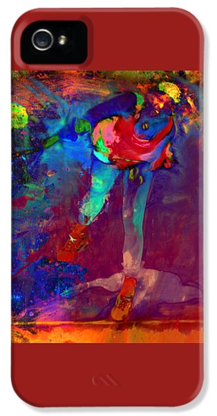Serena Williams Return Explosion IPhone 5s Case by Brian Reaves