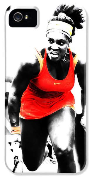 Serena Williams Go Get It IPhone 5s Case