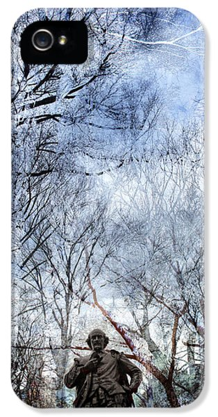 Shakespeare In The Park Collage IPhone 5s Case