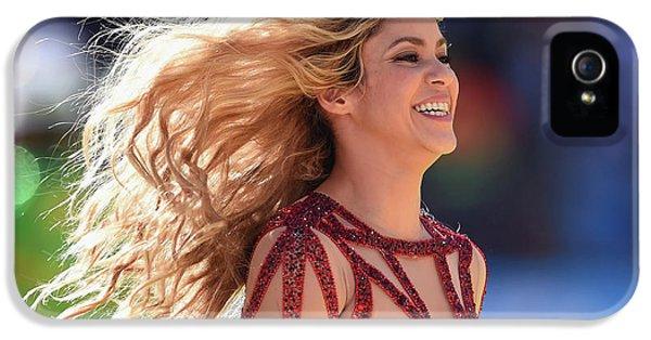 Shakira iPhone 5s Case - Shakira Brazil by Mery Moon