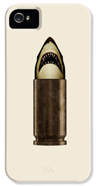 iPhone 5s Case - Shell Shark by Nicholas Ely