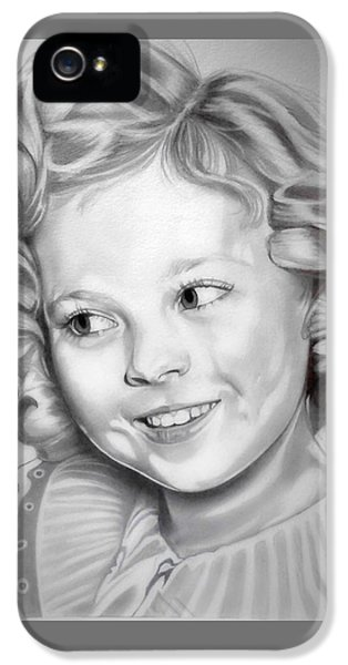 Shirley Temple IPhone 5s Case by Fred Larucci